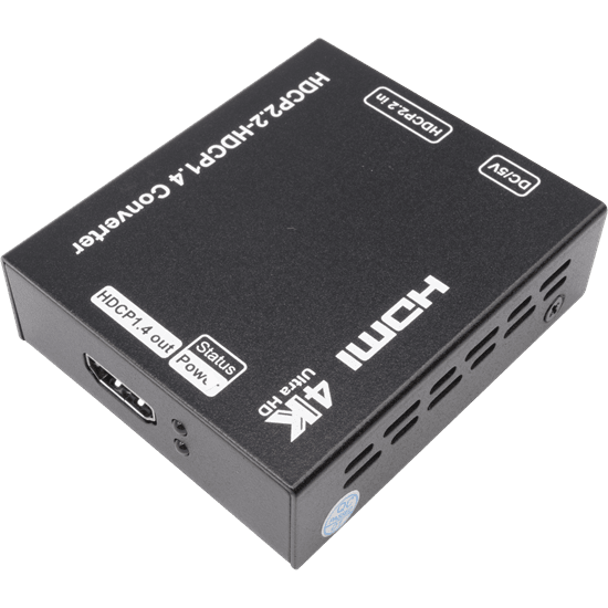 HDCP2.2 to HDCP1.4 Converter - allows use of old HDMI products with new HDMI products