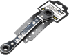 Reversible 10mm and 13mm Double Ratchet Spanner/ Angled Offset Wrench.