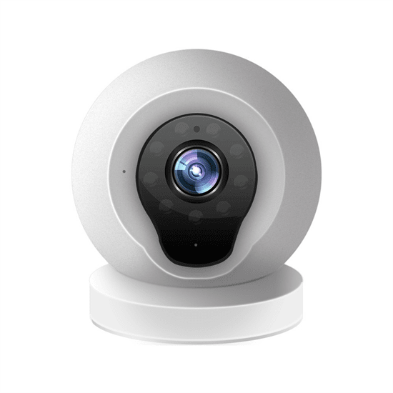 Internal Wi-Fi/IP Bulb Camera with Motion Detection and Talk-Back Audio Surface-Mountable