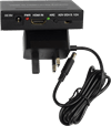 HDMI Audio Extractor, SPDIF + RCA Stereo with ARC - enables one connection between your TV and what you use to create sound