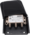 2-Way External Masthead Splitter/Combiner with LTE Filtering-35dB-55dB (up to channel 57) Waterproof Housing