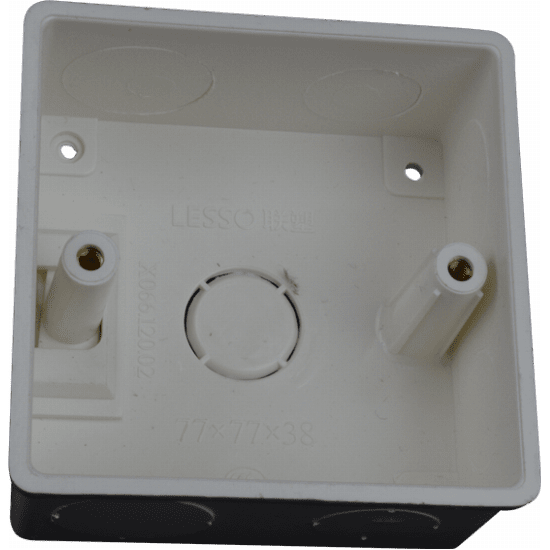 White Back Box for ProWifi In-Wall AP