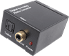 Digital Toslink/Coaxial to RCA Phono L/R Audio Converter - to make easy connection to an external device such as an amplifier
