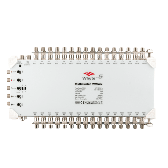 Whyte Series 5 5 wire 32-way Multiswitch
