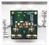 Coax & F Type Flush Mount Outlet Plate