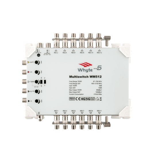 Whyte Series 5 5 wire 12-way Multiswitch