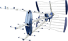 48 Element High Gain Aerial-ideal for weak signal areas and loft installations