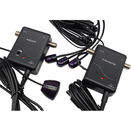 Remote Control Extender System - remote control your household A/V appliances from the existing coaxial cable