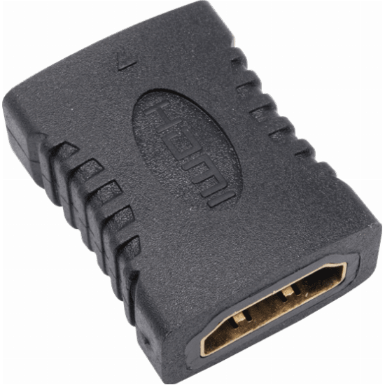 UHD HDMI to HDMI Cable Coupler with Gold Connectors 46613